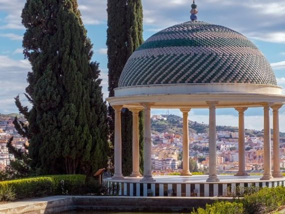 Jardín de la Concepción, un rincón paradisíaco de Málaga