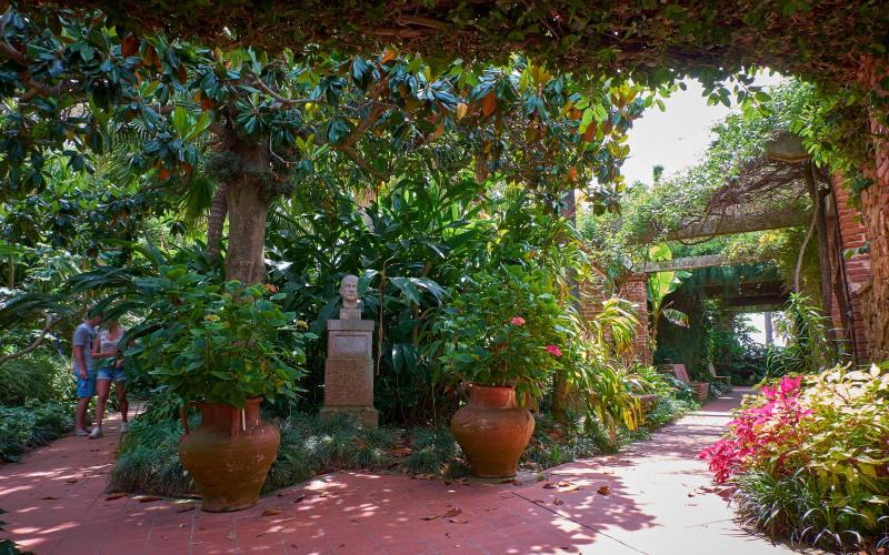 Pasajes en el jardín de Marimurtra