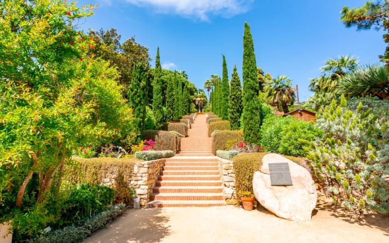 Escalera de Epicuro en Marimurtra