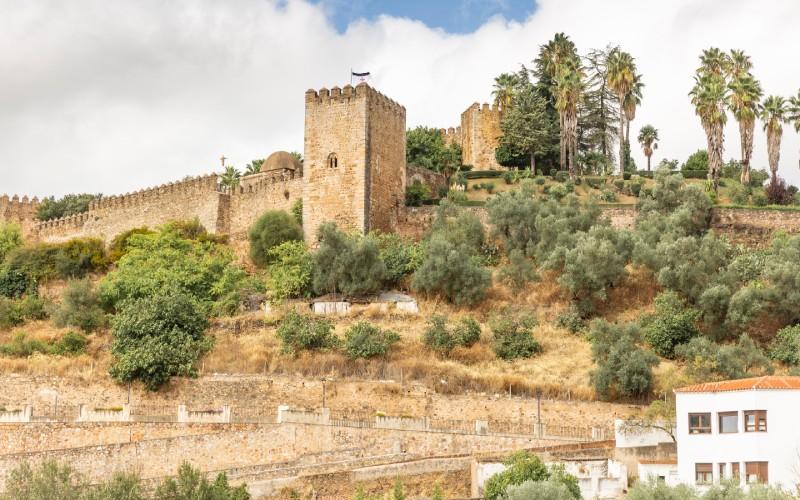 El castillo medieval de Jerez de los Caballeros