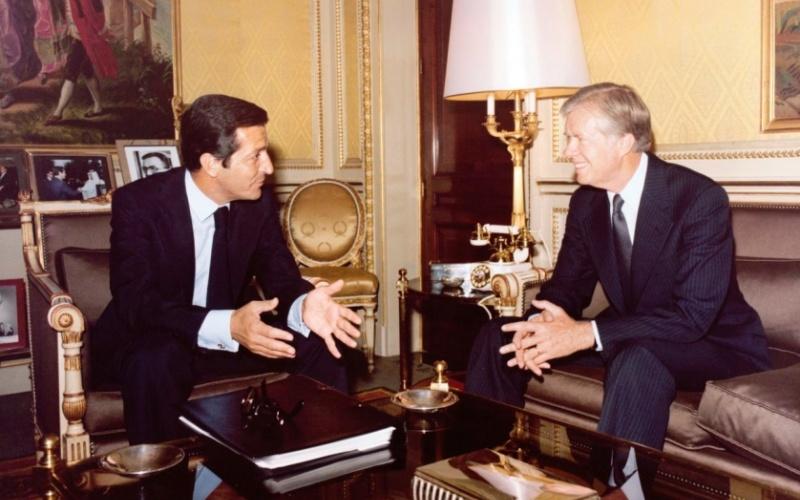 Carter y Suárez en Moncloa
