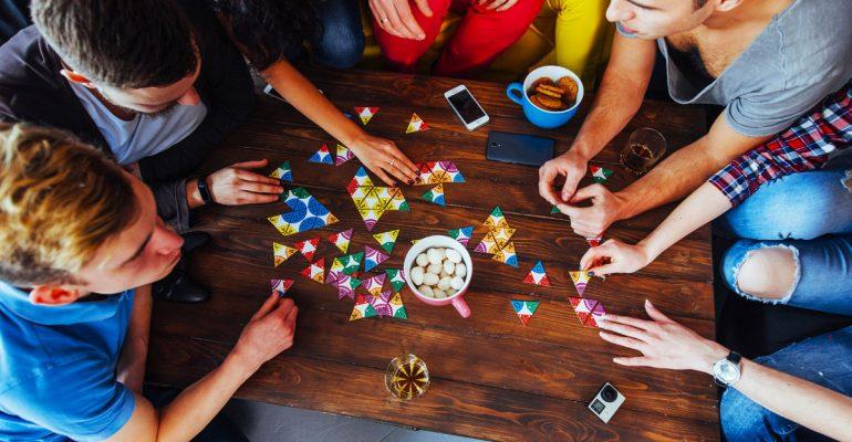 Café y juegos de mesa en Madrid
