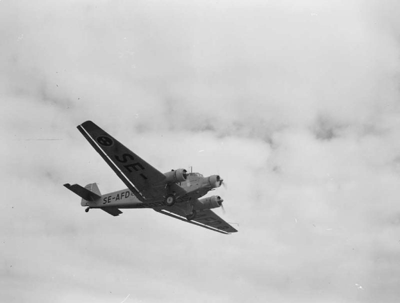 Junkers Ju 52 antiguo