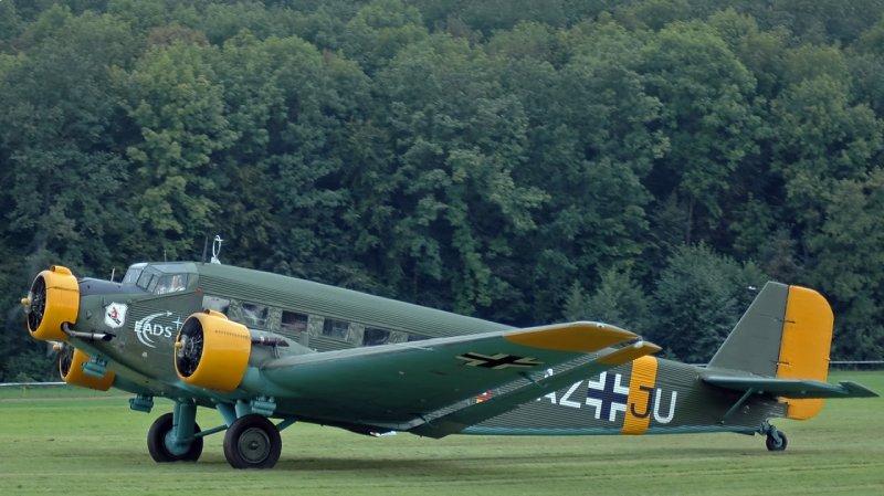 Modelo reconstruido de Junkers JU 52/3m