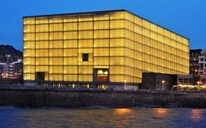 El edificio Kursaal es uno de los iconos de San Sebastián