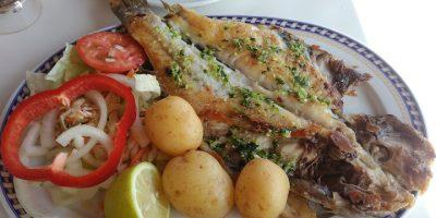 comer pescado tuinaje reataurante barraca