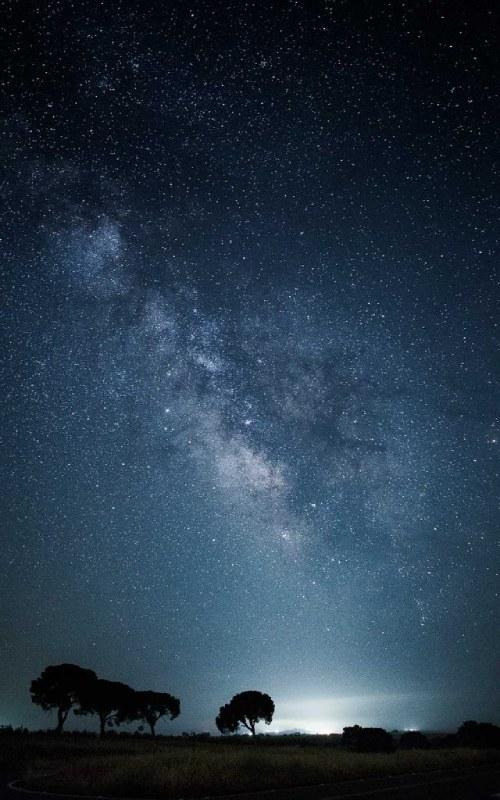 Entorno nocturno del mirador de La Cocosa