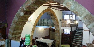 Comer Sant Mateu restaurante placa