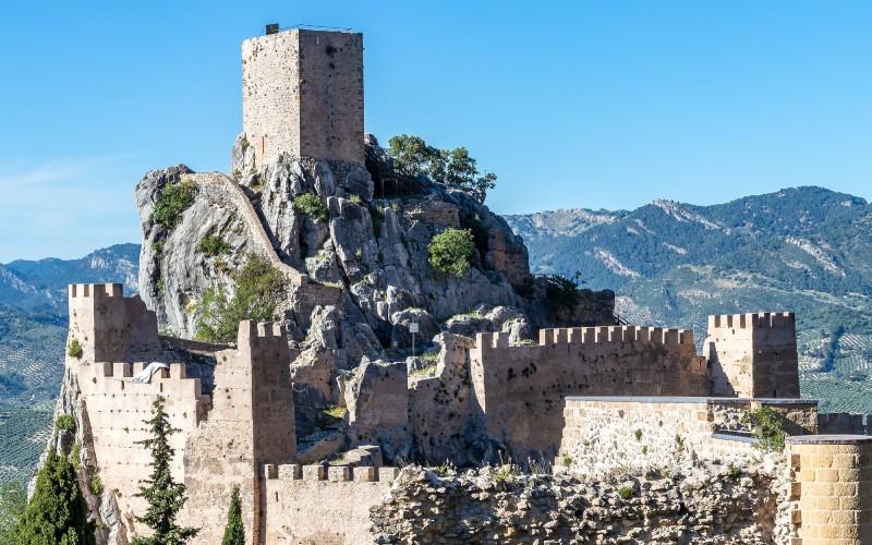 Castillo de la Iruela en El Picacho