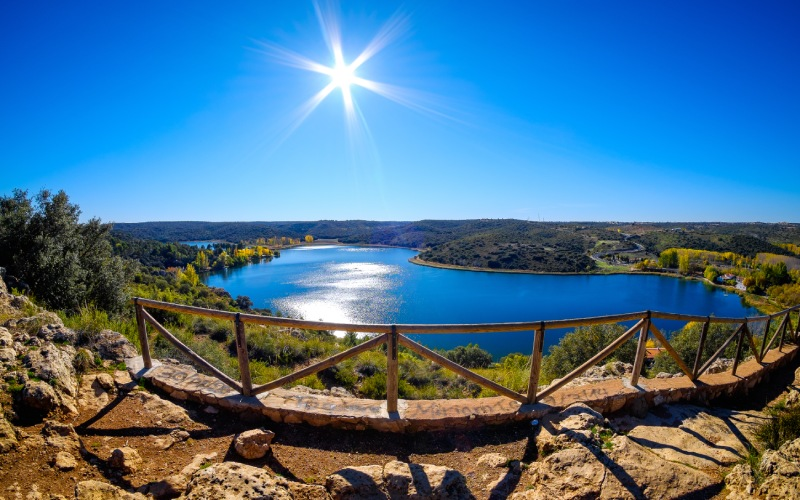 Laguna del Rey, quizá la más popular de toda la zona