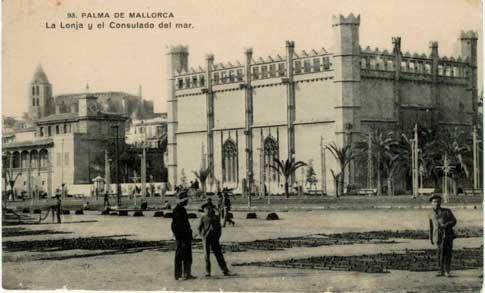 foto antigua palma mallorca