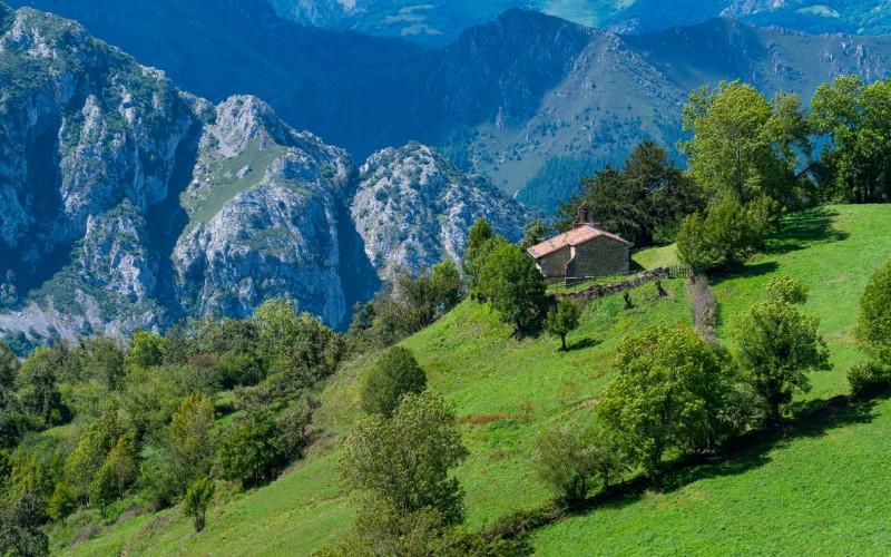 Alrededores de Bermiego, Asturias