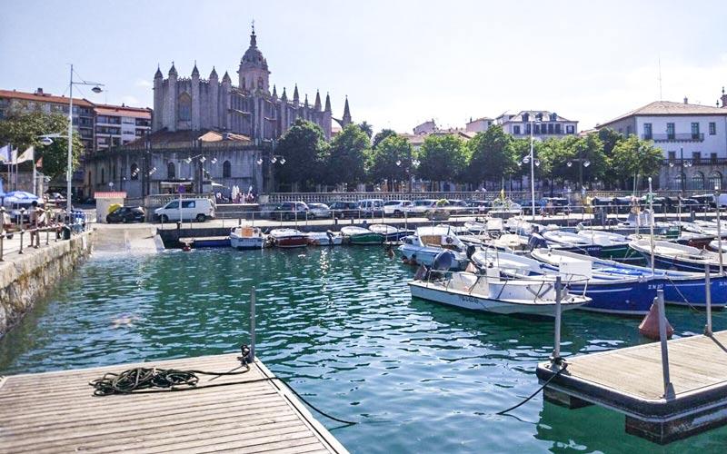 puertos pesqueros vascos