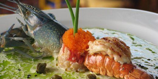 comer porto cristo restaurante fusion diecinueve