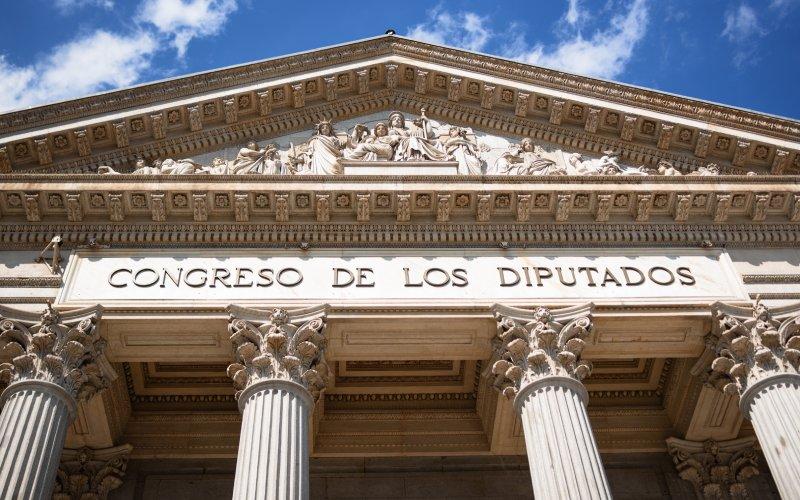 Friso del Congreso de los Diputados