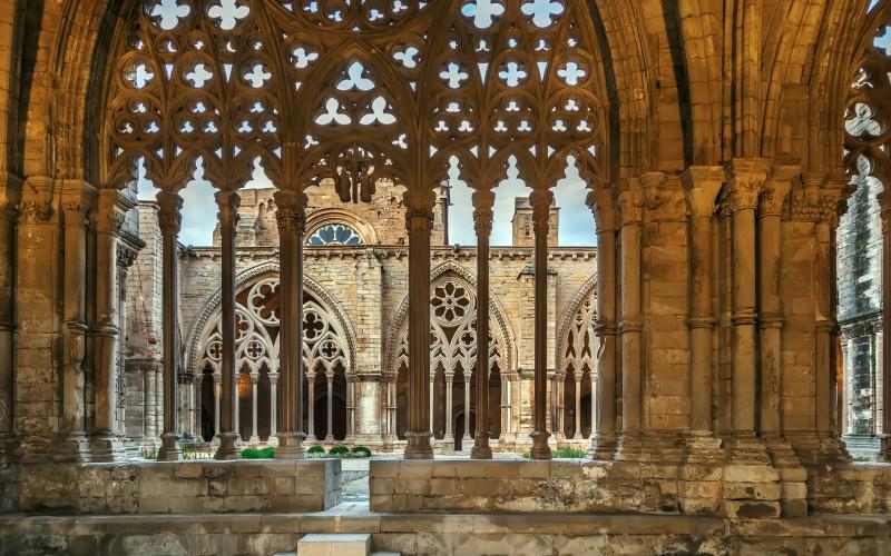 Interior de La Seu Vella, Lleida