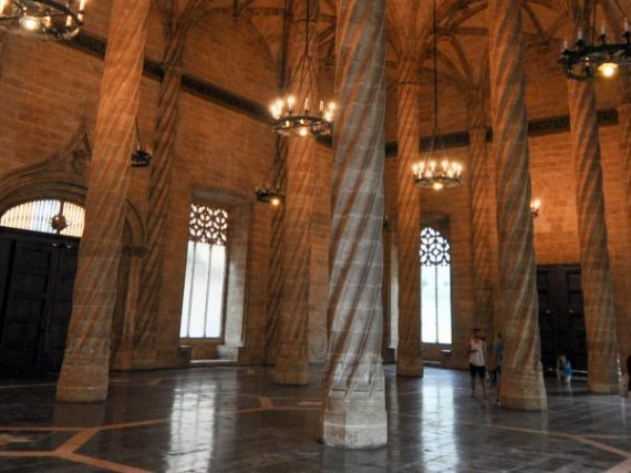La Lonja de la Seda de Valencia, un templo al comercio en plena capital del Turia