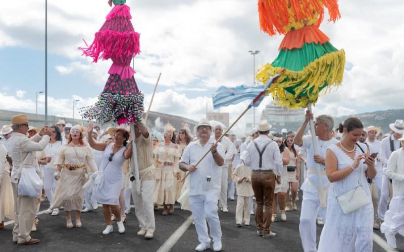 Fiesta de los Indianos en La Palma