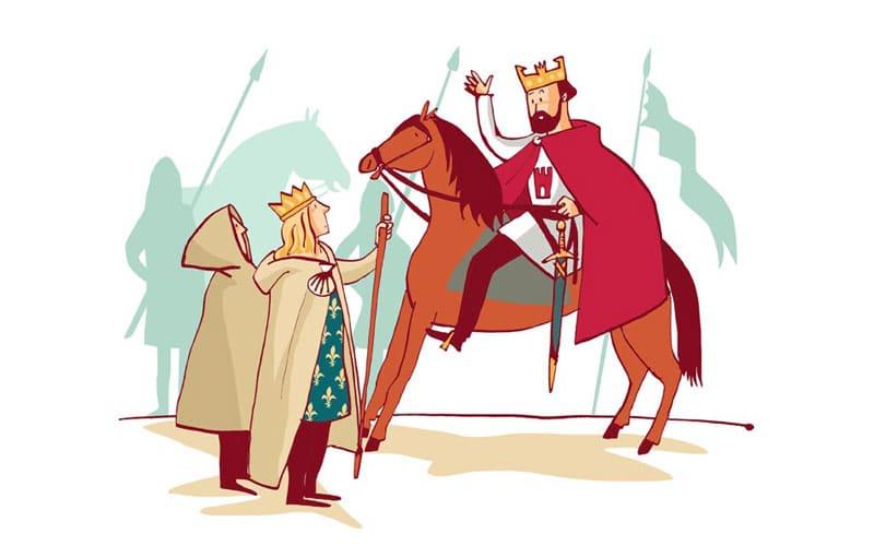 peregrinación de Luis VII