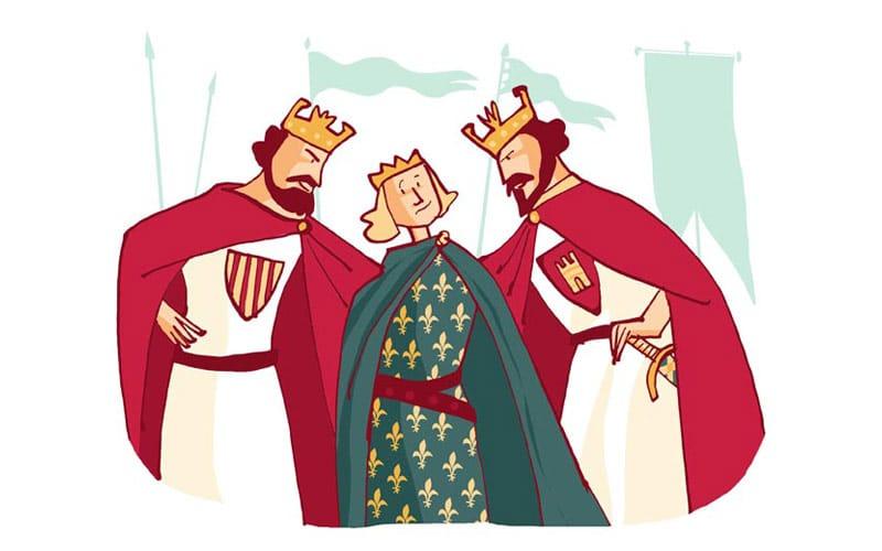 La peregrincaión de Luis VII de Francia