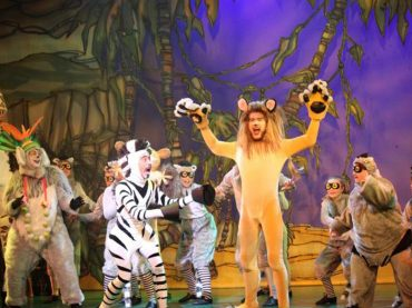 """El musical de """"Madagascar"""" aterriza en la Gran Vía de Madrid"""