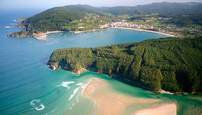 Ría Cedeira Praia da Magdalena