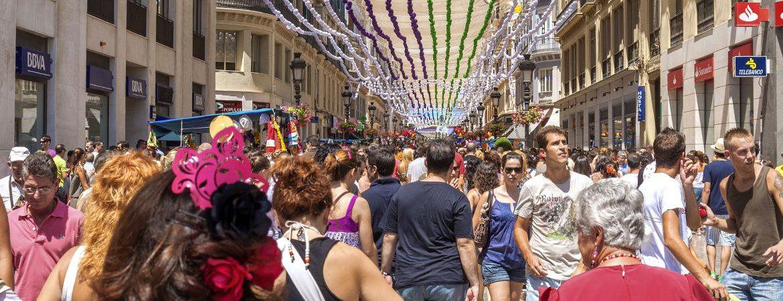 Feria de Málaga, una de las grandes fiestas de agosto