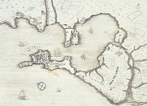 mapa antiguo san fernando
