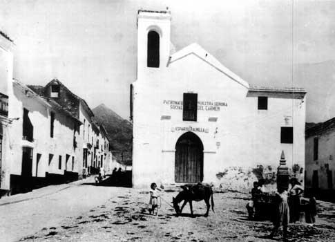 foto antigua La Ermita del Santo Cristo de la Vera Cruz de Marbella