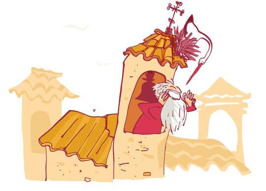 El banderizo Garcia de Salazar en Portugalete - España Fascinante