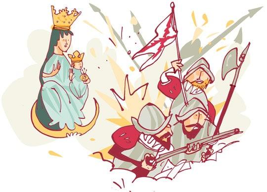 milagro y tragedia de virgen del puy