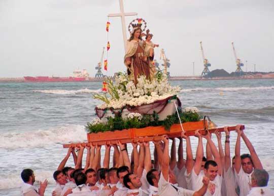 procesion maritima