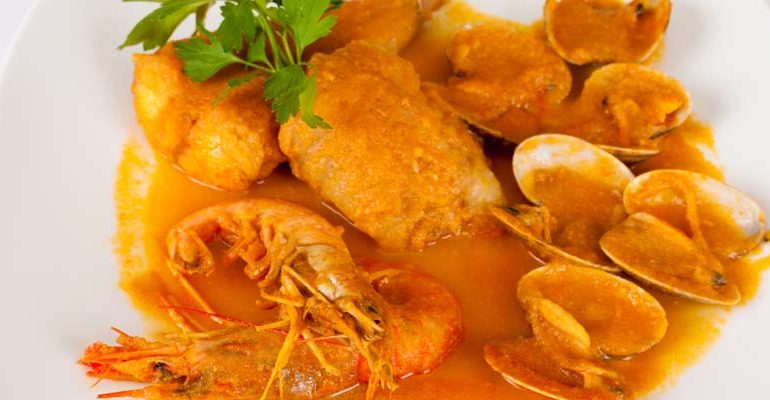 Receta de merluza a la sidra asturiana