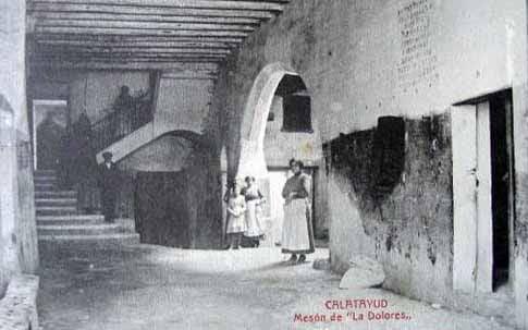 postal antigua Mesón de La Dolores