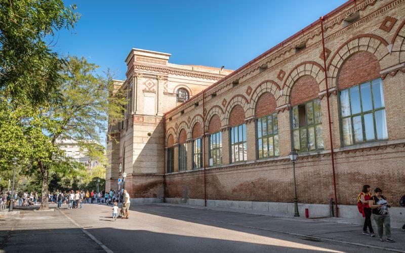 Edificio actual del Museo Nacional de Ciencias Naturales
