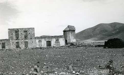 molino foto antigua tuineje