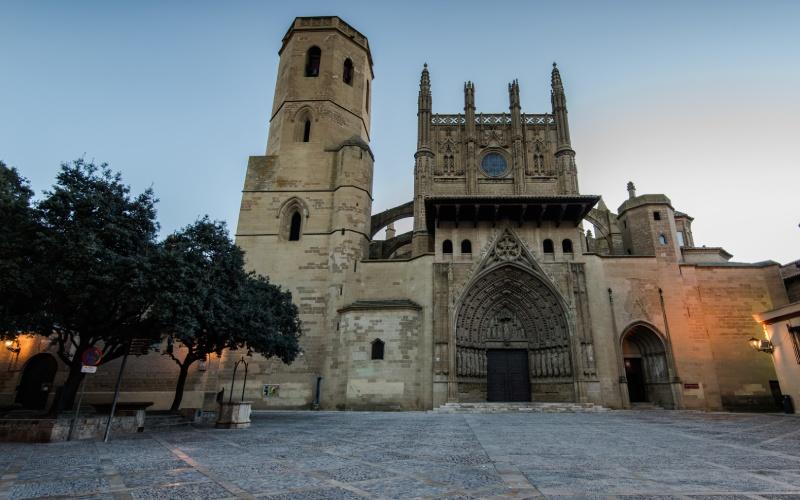 Monasterio de San Pedro el Viejo, en Huesca