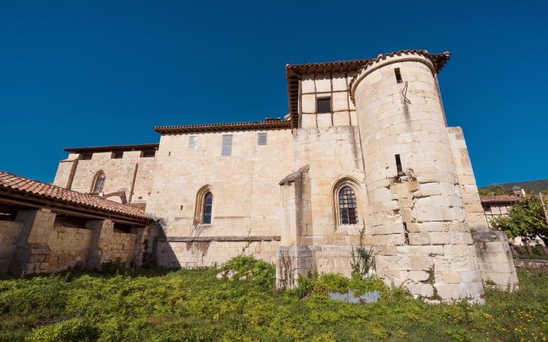 Los Becerros de Valpuesta fueron recopilados aquí, en este vetusto Monasterio