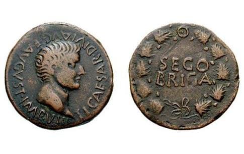 moneda romana segobriga