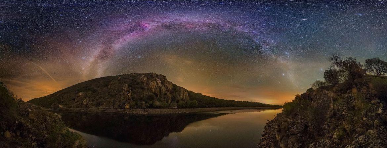 Parque nacional de Monfragüe uno de los miradores celestes de Estremadura