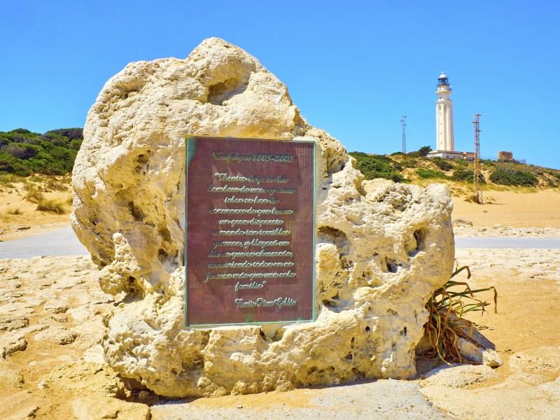 Monumento en honor a la Batalla de Trafalgar, Los Caños de Meca en Barbate