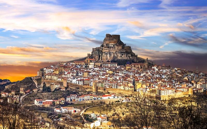 Vistas del pueblo de Morella