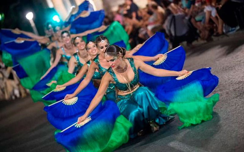 fiestas patronales de España en septiembre Moros y Cristianos en Murcia