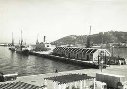 Muelle de España en Ceuta