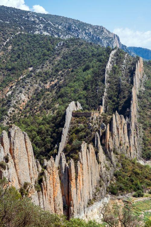 muralla china de Finestras o Roques de la Villa