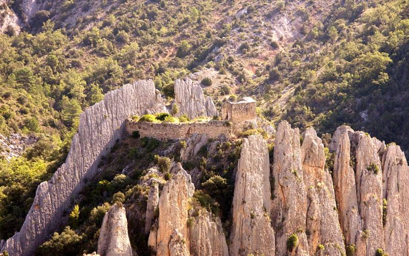 Muralla China de Finestres o Roques de la Villa