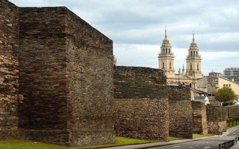 La muralla de Lugo