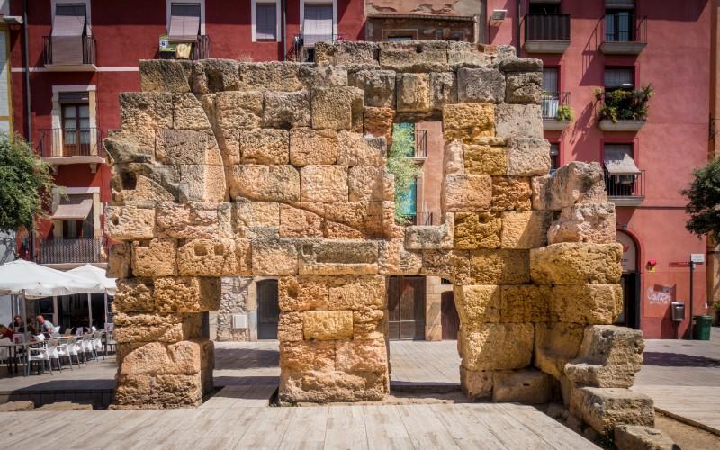 Murallas y Paseo Arqueológico, Tarragona