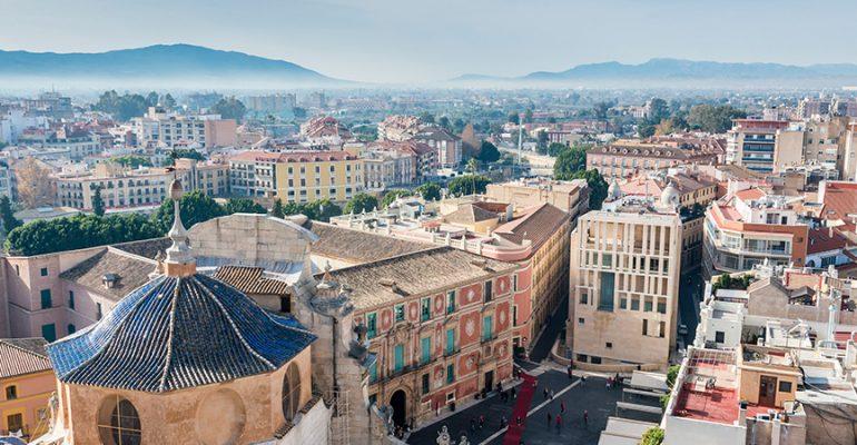 Dónde dormir en Murcia