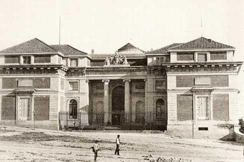 museo prado foto antigua